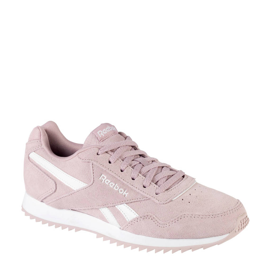 Reebok  Royal Glide leren sneakers roze/wit, Roze/wit