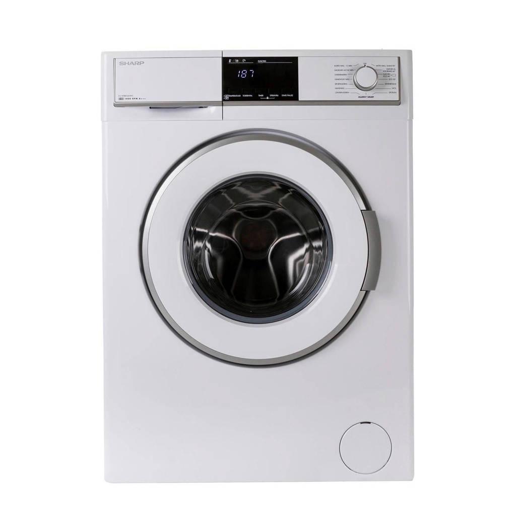 Sharp ESHFB8143W3BX wasmachine