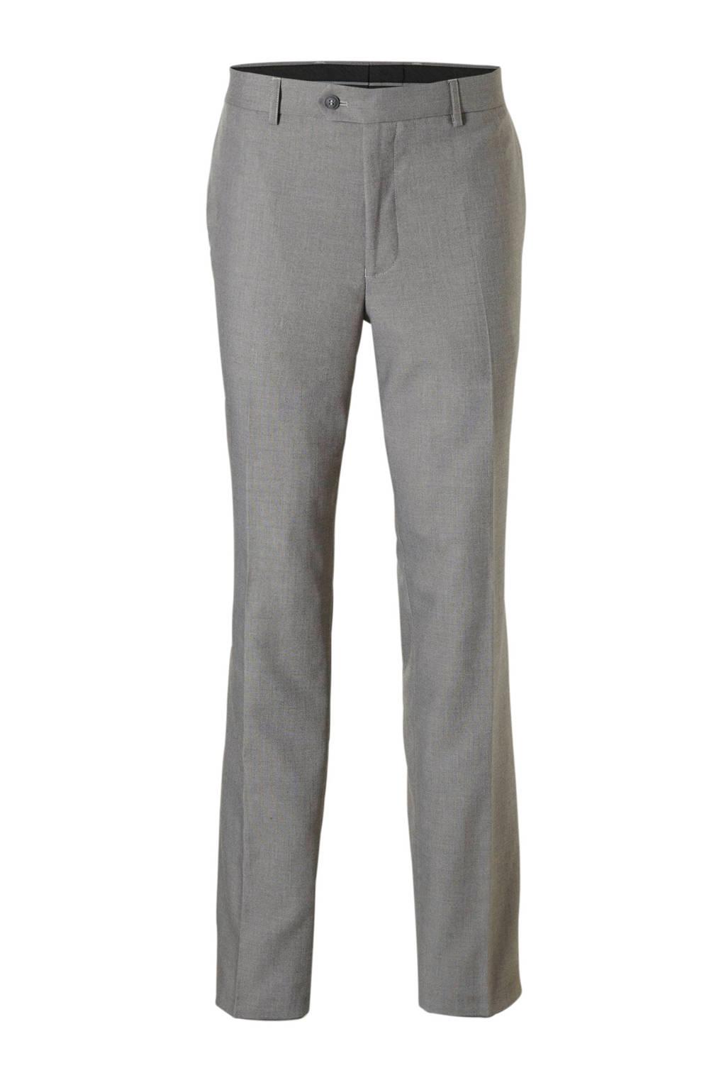 C&A Canda regular fit pantalon grijs, Grijs