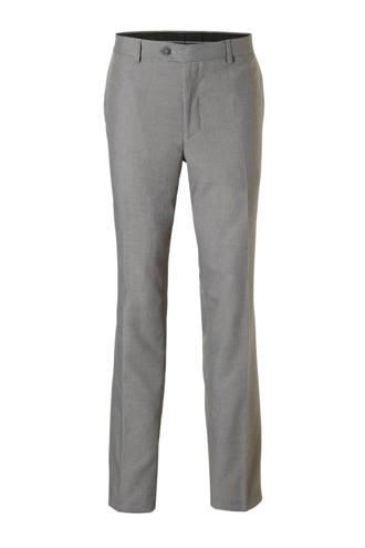 Canda regular fit pantalon grijs