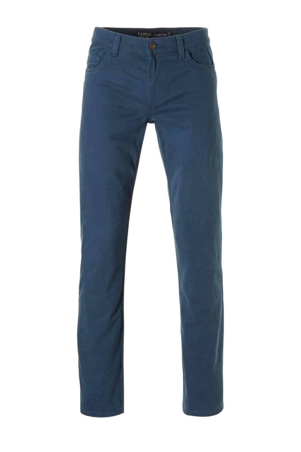 C&A Canda regular fit broek blauw, Blauw