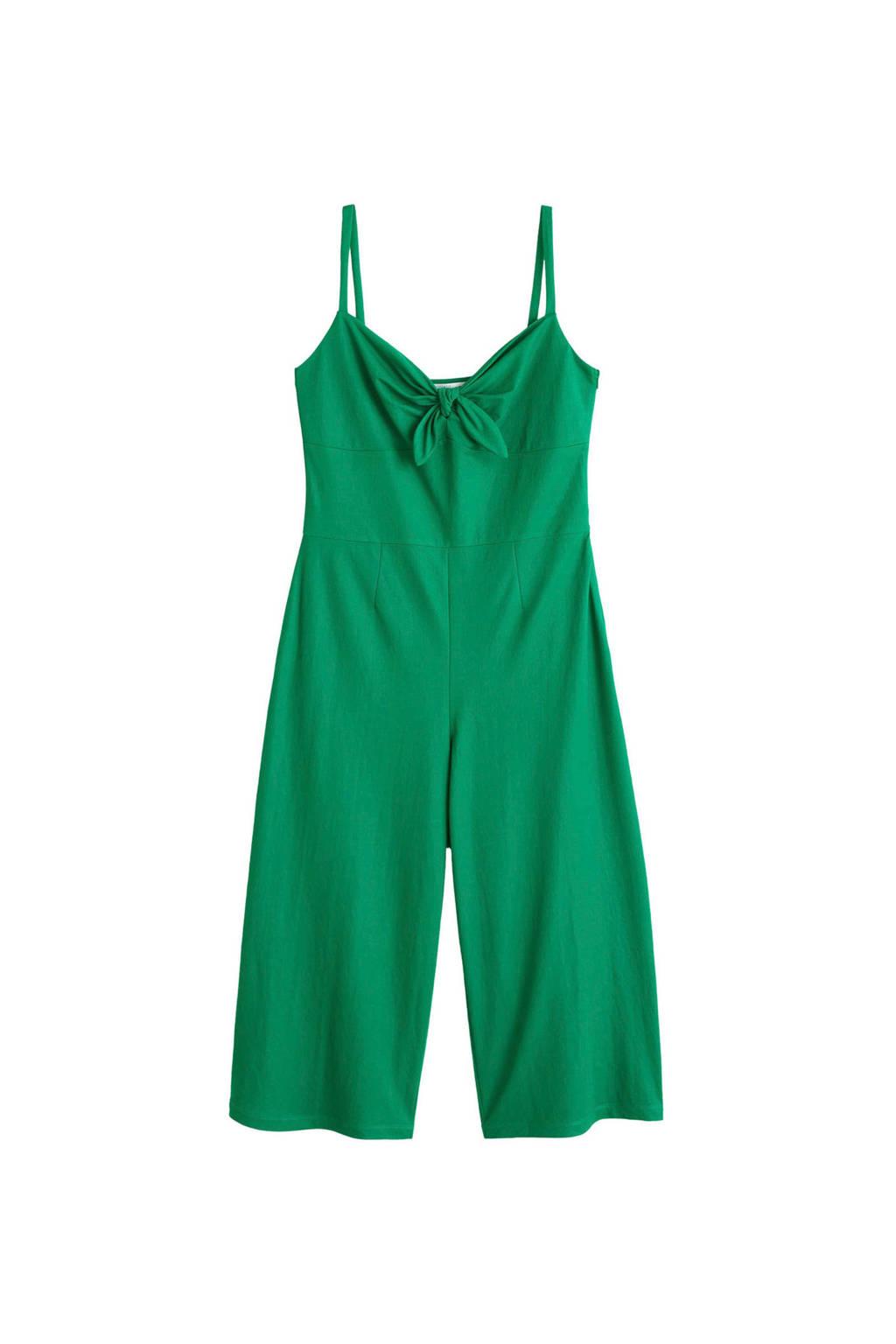 Violeta by Mango jumpsuit groen, Groen