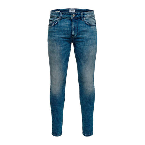ONLY & SONS skinny fit jeans Loom blue denim