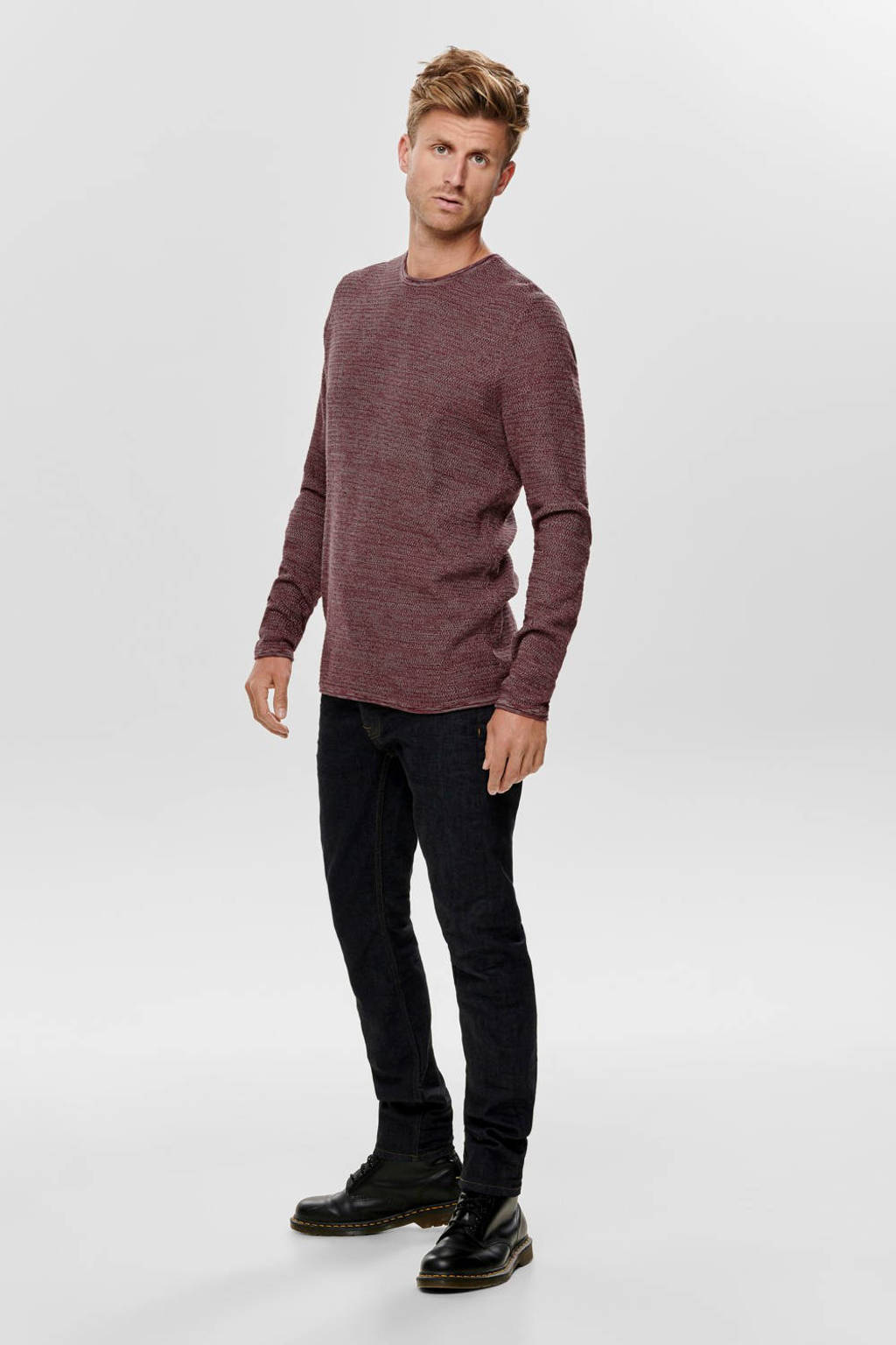 ONLY & SONS trui, Rood