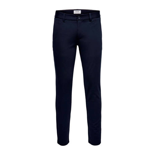 ONLY & SONS slim tapered fit chino marine