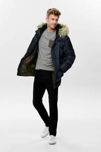 ONLY & SONS winterjas donkerblauw, Donkerblauw