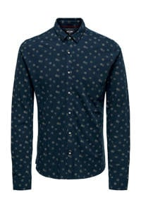 ONLY & SONS overhemd, Donkerblauw