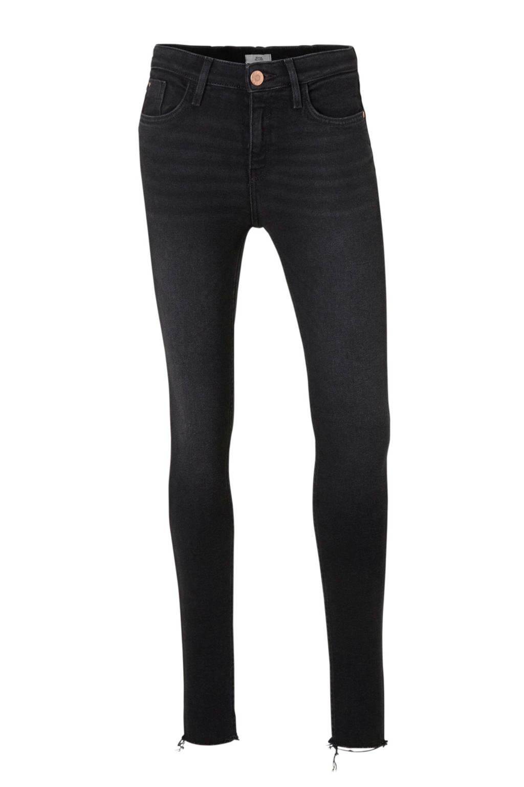 River Island Skinny fit jeans Amelie zwart, Zwart