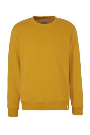 sweater van biologisch katoen geel