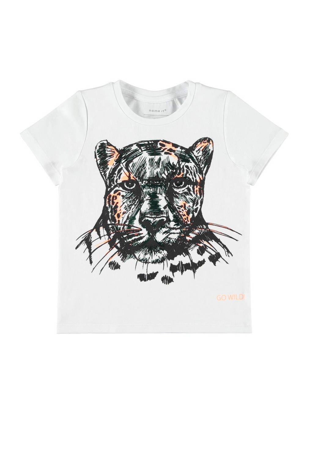 name it T-shirt Julian wit, Wit