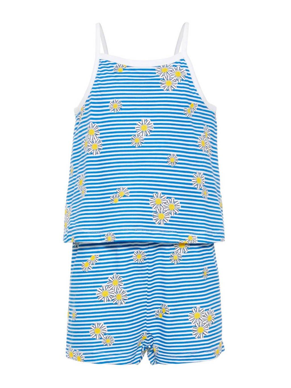 NAME IT gestreepte jumpsuit blauw/wit, Blauw/wit