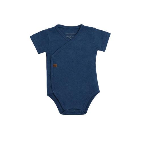 Baby's Only newborn romper blauw kopen