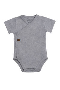Baby's Only newborn baby romper, Grijs melange