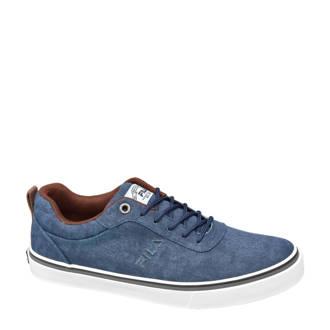 canvas sneakers denimblauw
