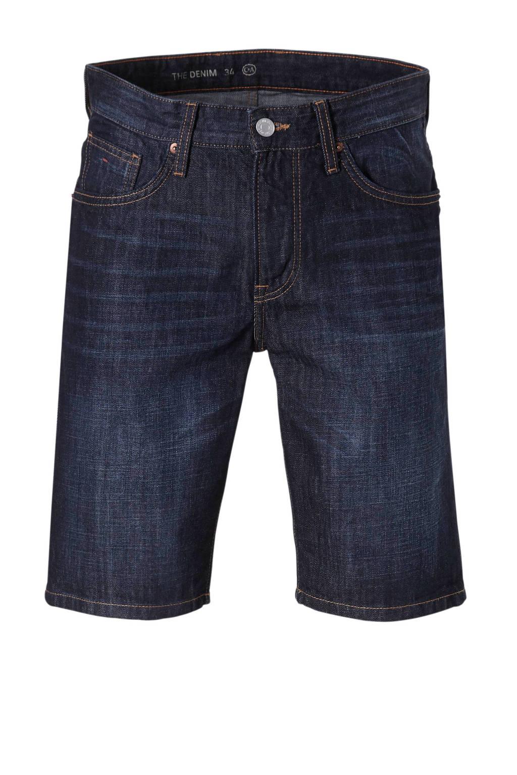 C&A The Denim regular fit jeans short, DkBlue18