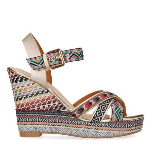 Sacha sandalettes blauw
