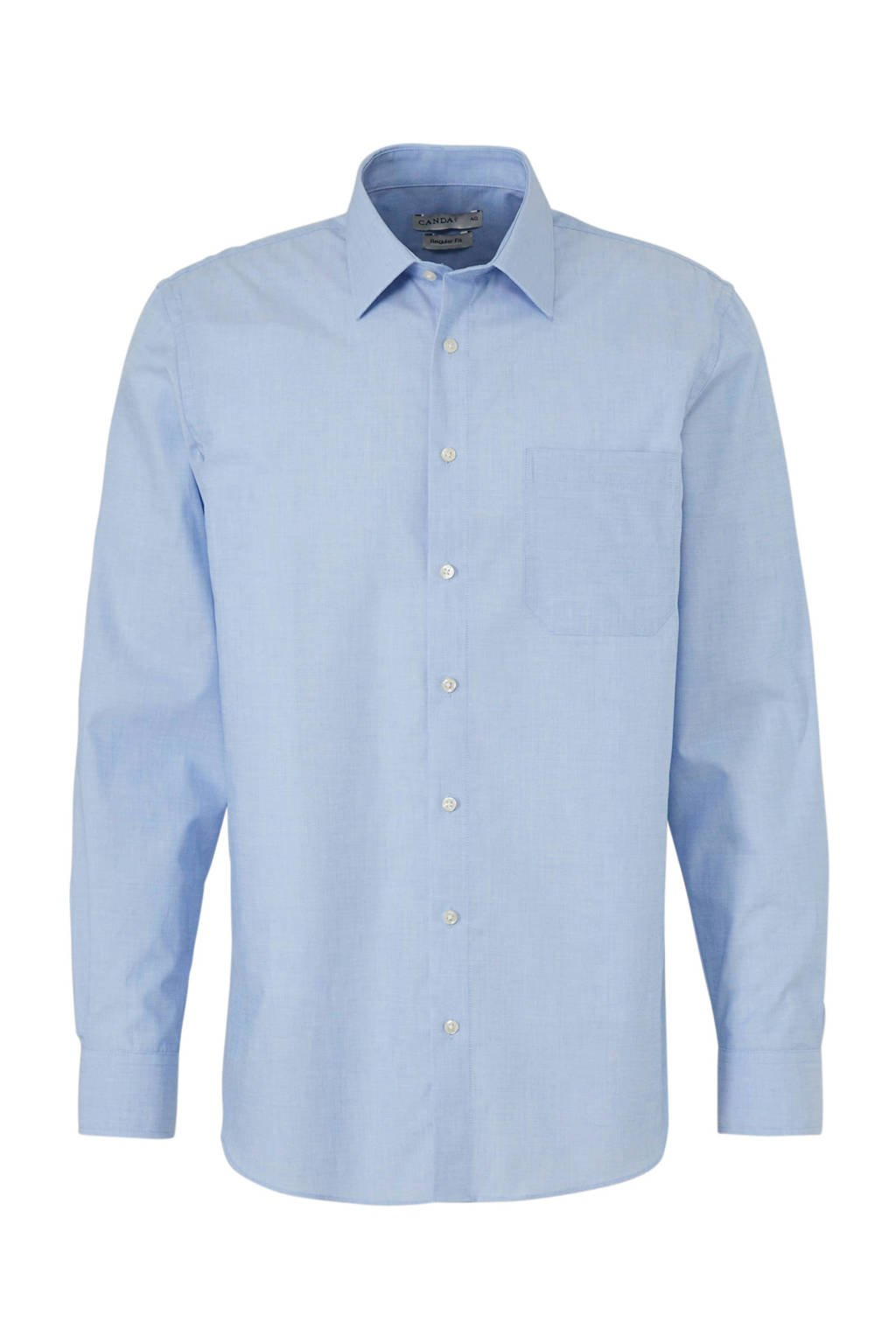 C&A Canda regular fit overhemd blauw, Blauw