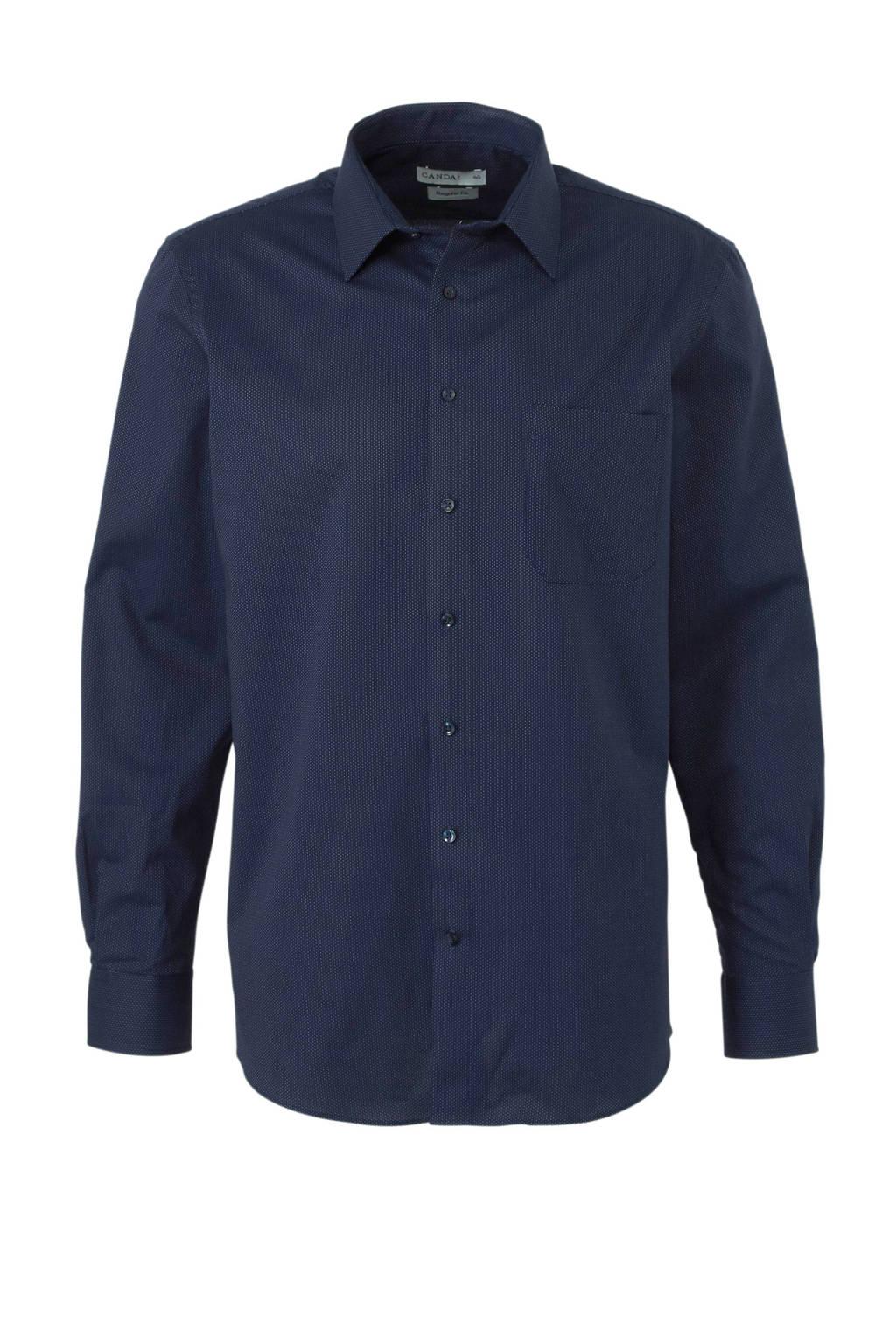 C&A Canda regular fit overhemd, Donkerblauw