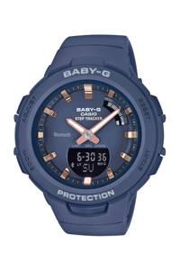 Baby-G horloge  BSA-B100-2AER, Blauw