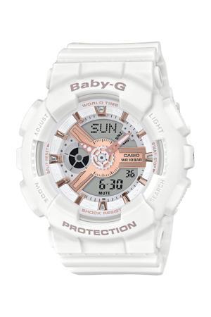 horloge  BA-110RG-7AER wit
