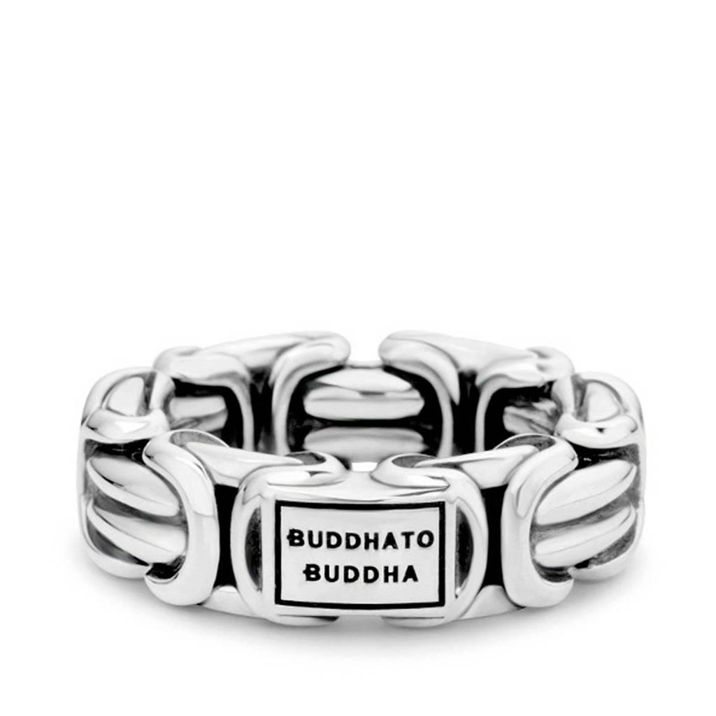 Buddha To Buddha Zilver ring BTB484, Zilverkleurig