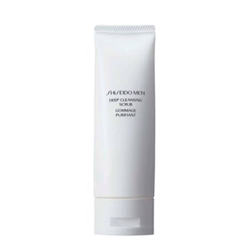 Shiseido Men Deep Cleans scrub - 125 ml