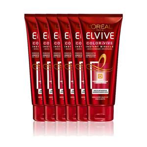 Elvive Color Vive Instant Miracle Haarmasker -6x 200ml multiverpakking