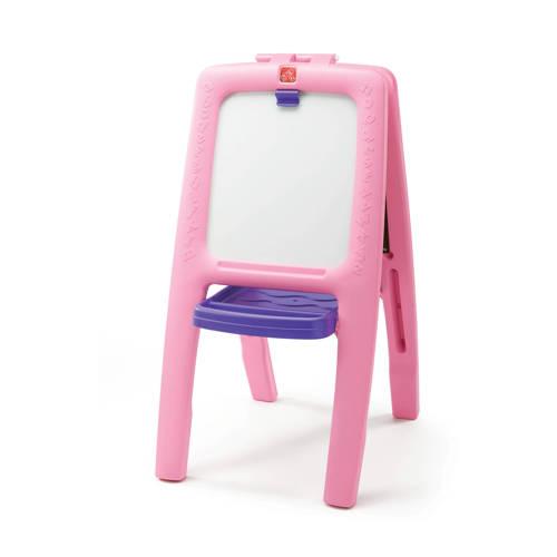 Step2 schildersezel voor twee Roze kopen