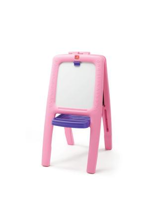 schildersezel voor twee Roze