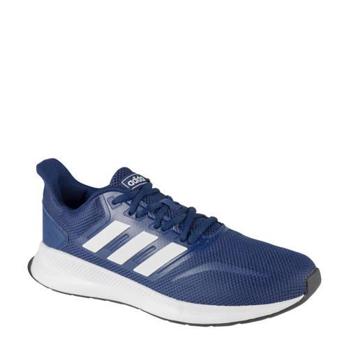 adidas Run Falcon sneakers blauw/rood