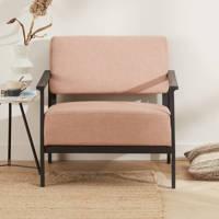 whkmp's own fauteuil Sven, Zalmroze