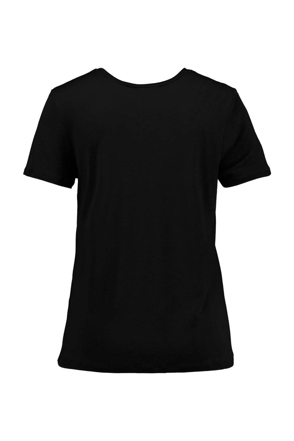America Today T-shirt zwart, Zwart