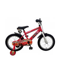 Cars  16 inch kinderfiets, Rood