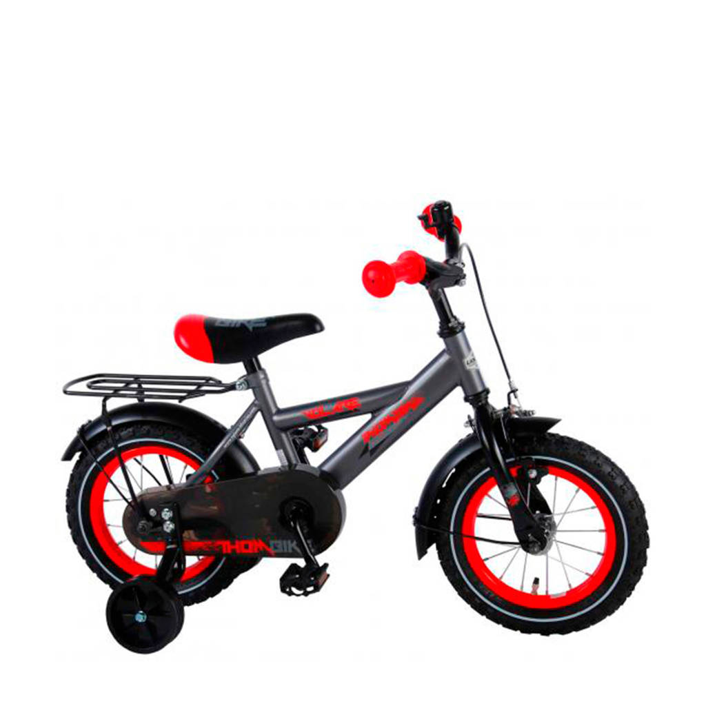 Volare  Thombike 12 inch grijs/rood, Grijs/rood