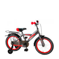 Volare  Thombike 16 inch grijs/rood, Grijs/rood