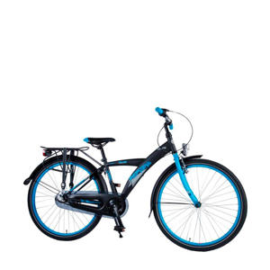 Thombike City 26 inch N3 speed mat zwart/blauw