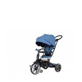 Driewieler Prime 6 in 1 blauw