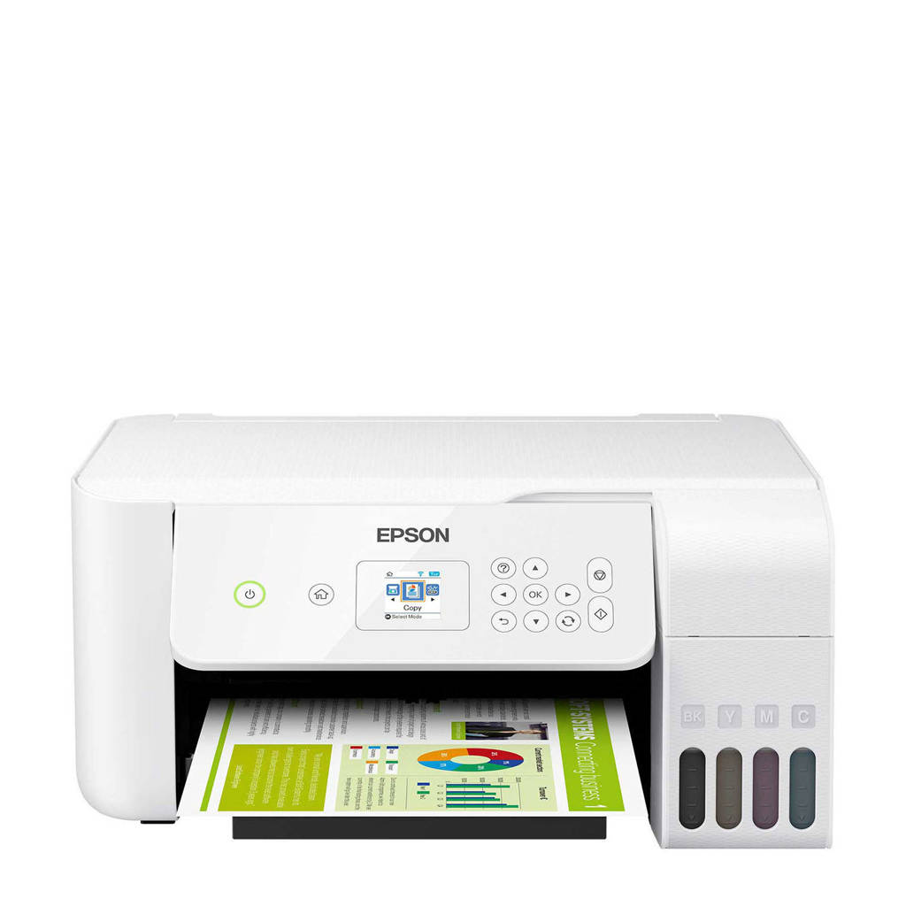 Epson ET-2726 all-in-one printer, Wit