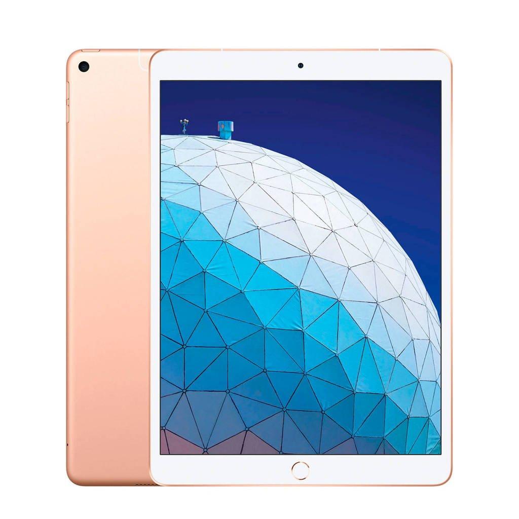 "Apple Apple iPad Air 10.5"" Wi-Fi + Cellular 256GB (Gold), Goud"