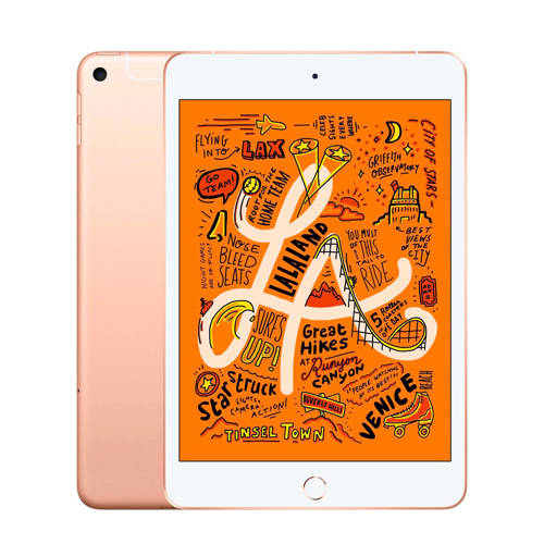 Apple iPad mini Wi-Fi + Cellular 256 GB ( MUXE2NF/A) Goud kopen
