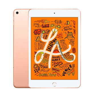 iPad mini Wi-Fi + Cellular 256 GB ( MUXE2NF/A) Goud