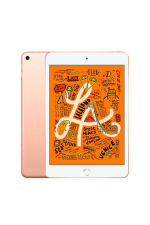 iPad mini Wi-Fi + Cellular 64GB (MUX72NF/A) Goud
