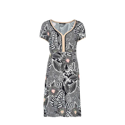 Expresso jurk met all over print