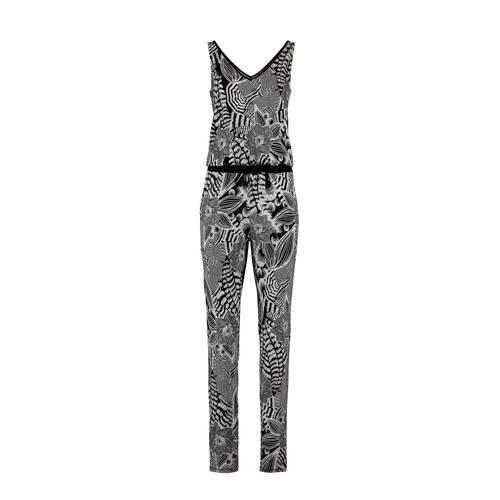 Expresso jumpsuit bloemenprint zwart kopen