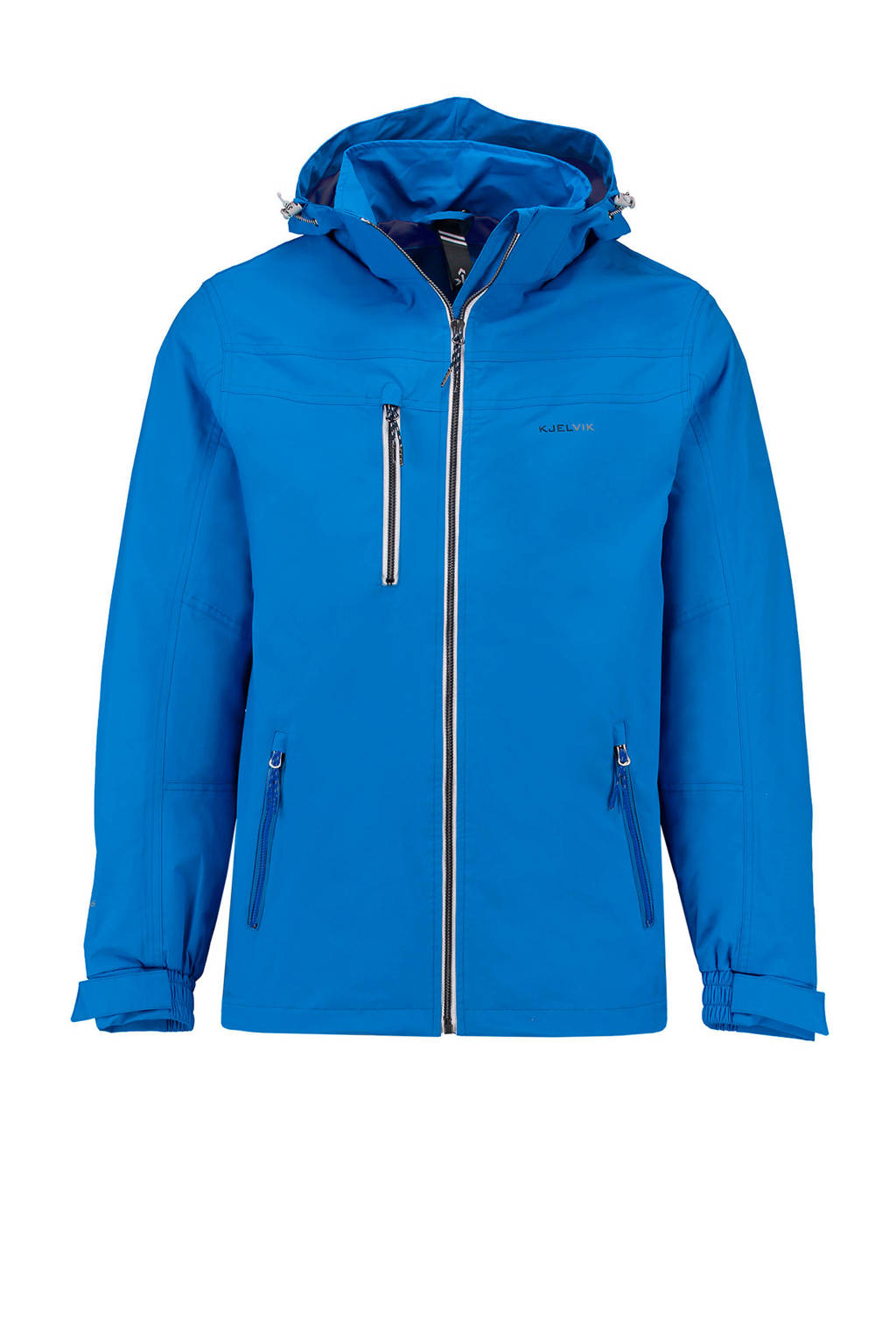 Kjelvik outdoor jas Fred kobaltblauw, blue