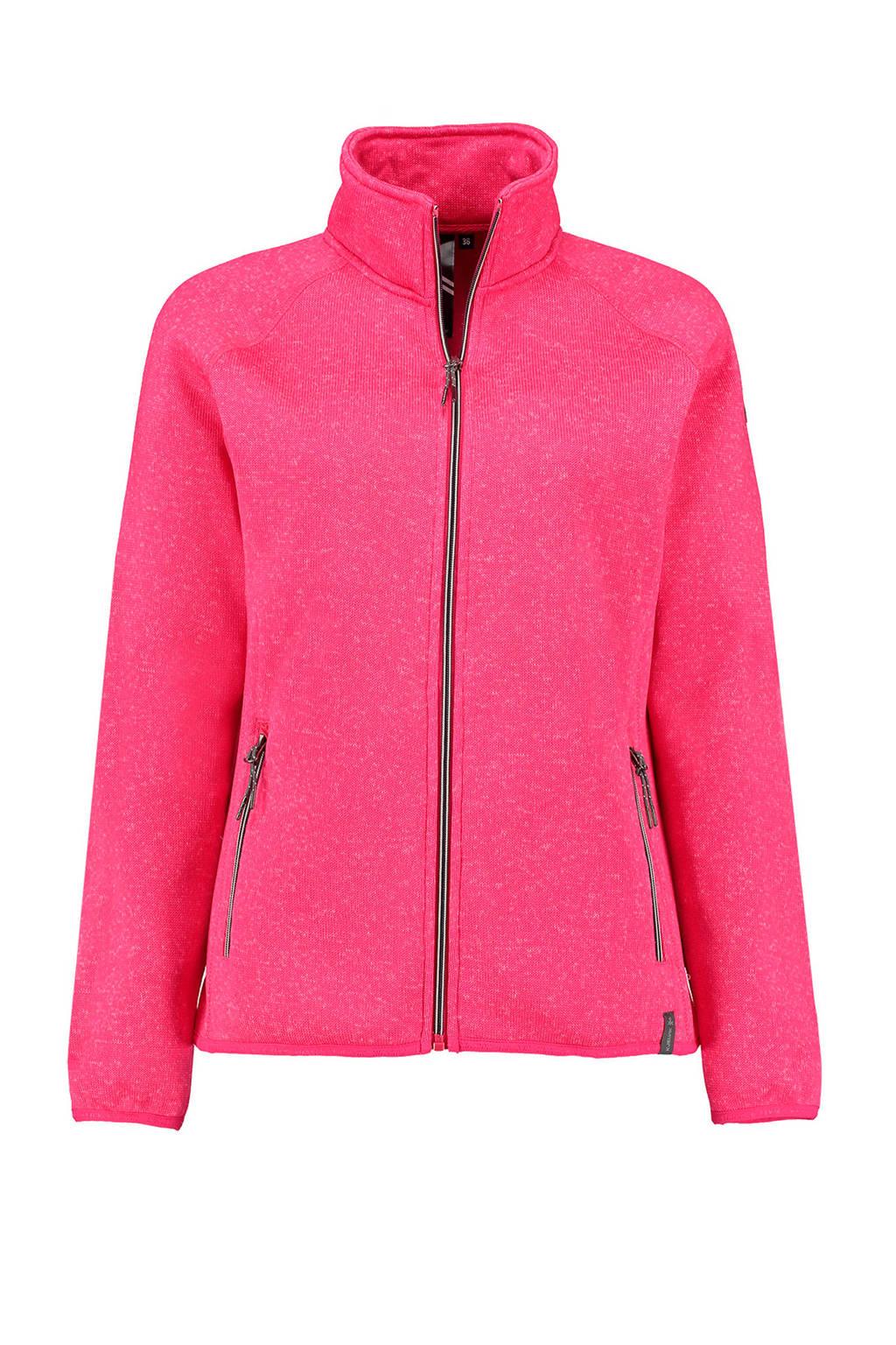 Kjelvik fleece vest Byanca roze, Roze