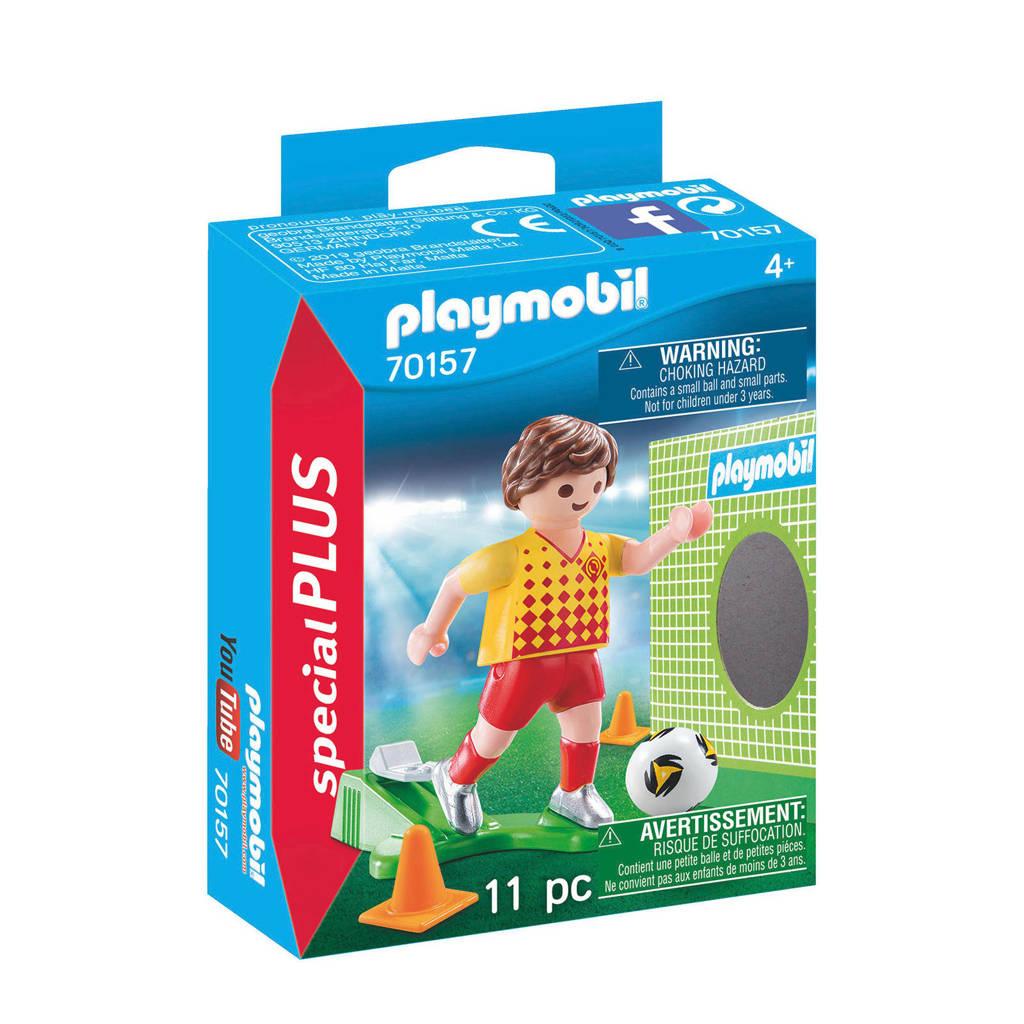 Playmobil Special Plus Voetballer met doel 70157