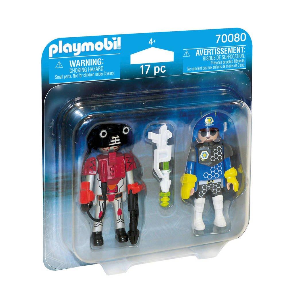 Playmobil Duo Pack DuoPack Ruimte agent en robot 70080