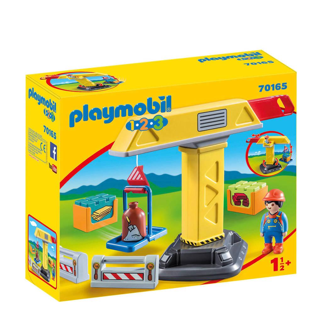 Playmobil 1-2-3 Bouwkraan 70165