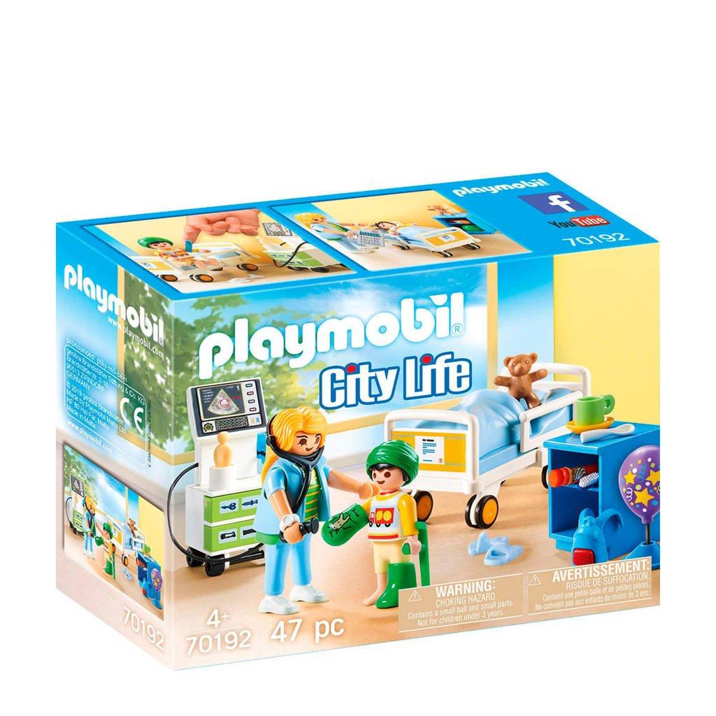 Playmobil City Life Kinderziekenhuiskamer 70192